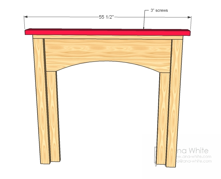 Building A Fake Fireplace Surround