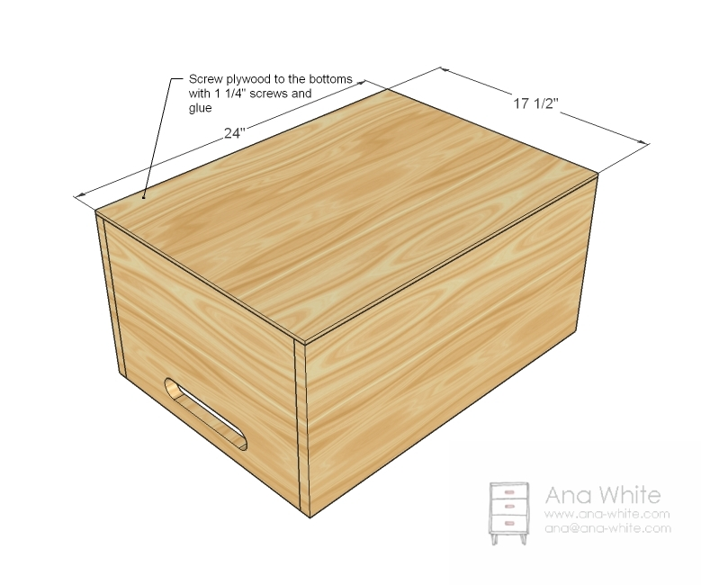 Woodwork Easy Wooden Toy Box Plans PDF Plans