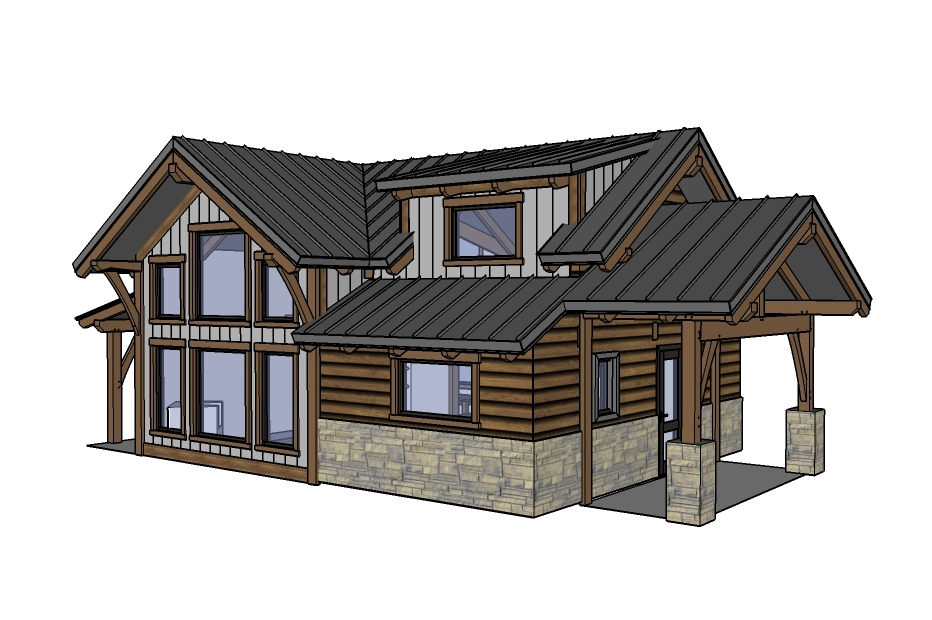 designing our remote alaska lake cabin ana white