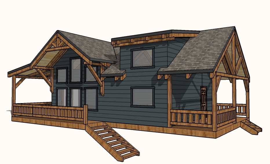Designing Our Remote Alaska Lake Cabin Ana White Woodworking