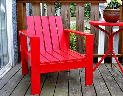 Chairs on Outdoor Lounge Chair   Free And Easy Diy Project And Furniture Plans