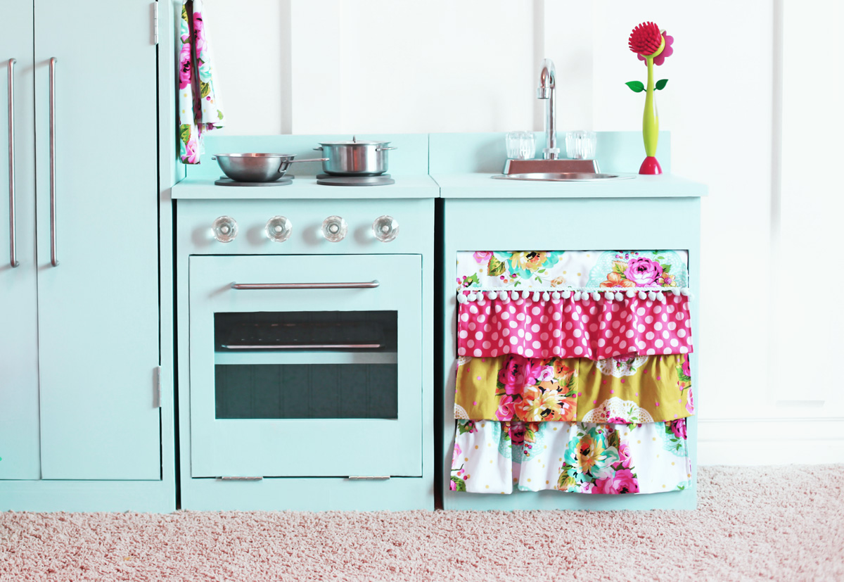 Simple Play Kitchen Sink and Stove | Ana White