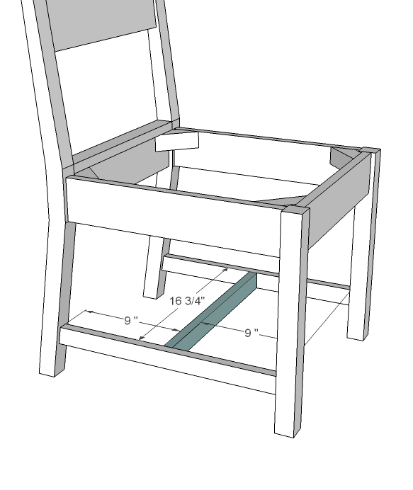 wood chair plans easy