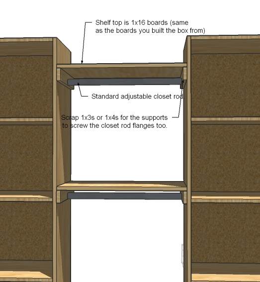 Pdf diy build closet organizer download build a bookcase for How to design closet storage