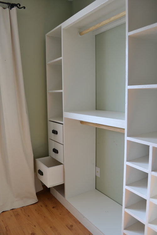 Wardrobe closet diy wardrobe closet design ideas for How to design closet storage