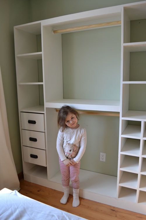 woodwork build custom closet system plans pdf download