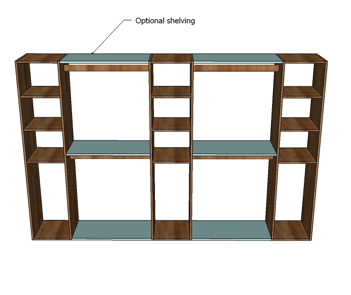 Build Your Own Closet Shelving