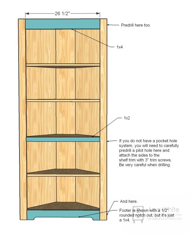 make wooden garage shelf