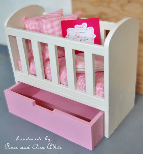 Wooden Doll Cradle Plans