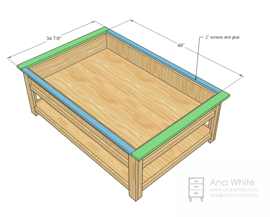 Train table building plans free quick woodworking projects for Table layout design