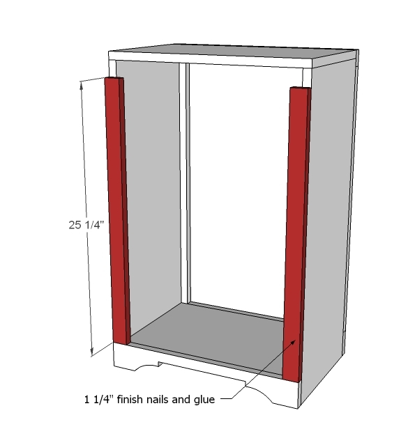 plans for wood trash bin