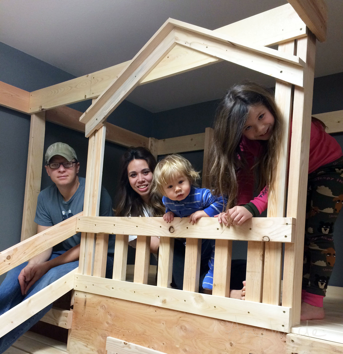 white diy basement indoor playground with monkey bars diy projects
