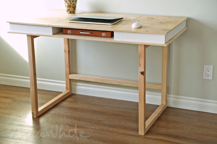 Modern 2x2 Desk Base For Build Your Own, Building Your Own Desk