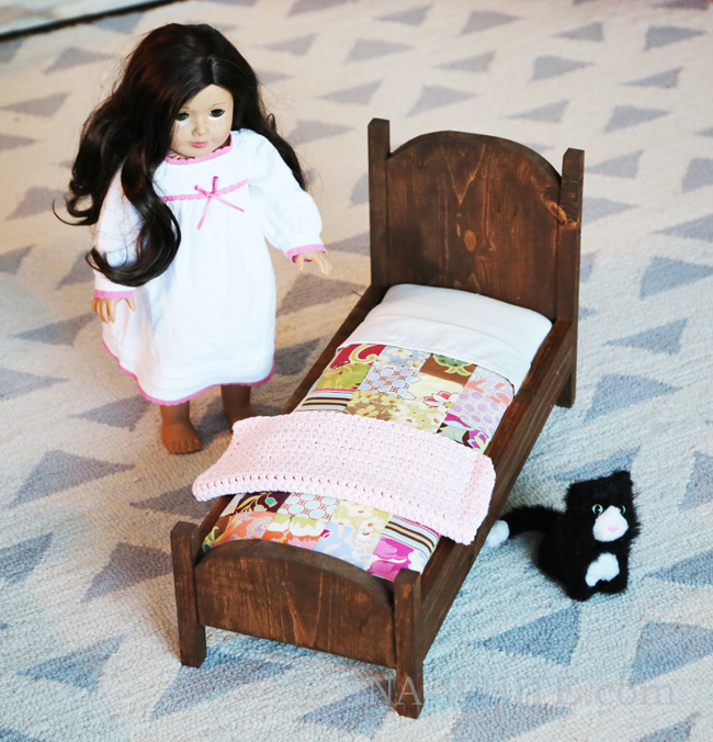Vintage Style American Girl Doll Bed Ana White