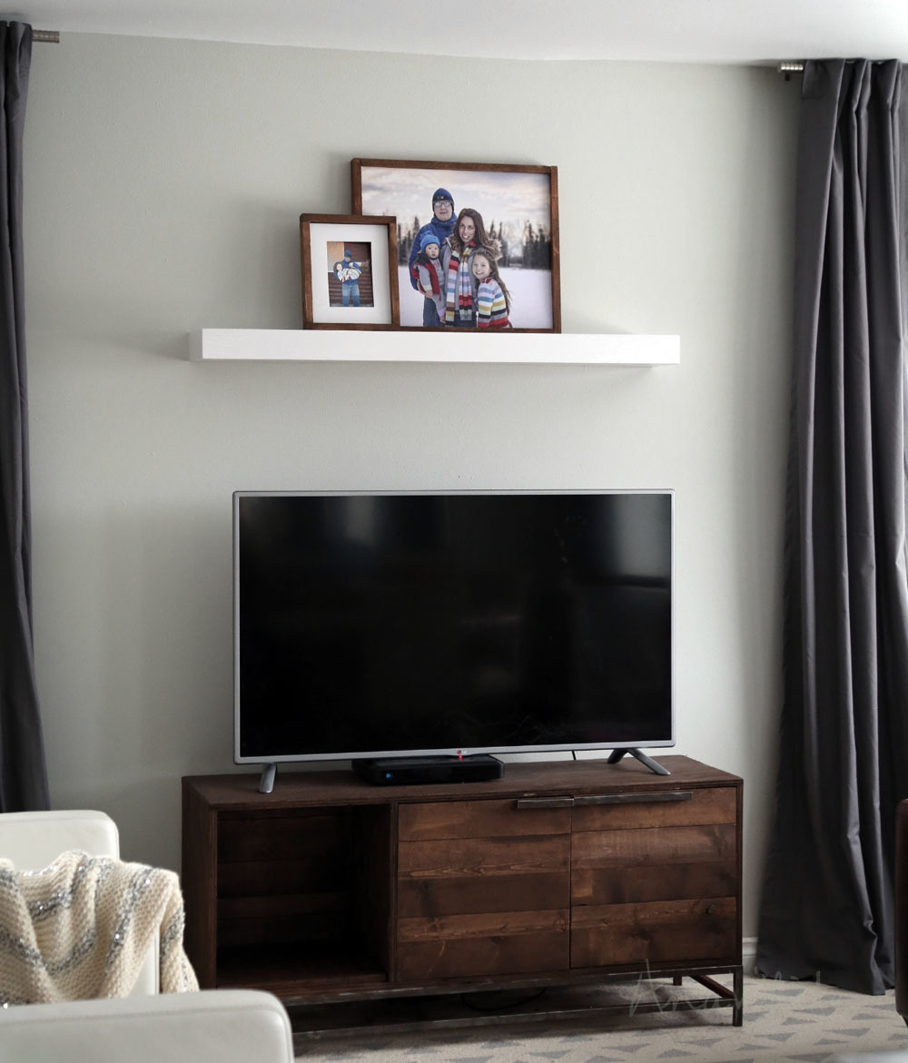 Easy To Make Modern Floating Shelf Out Of 1x3s And 1 4 Plywood Customize Any Length