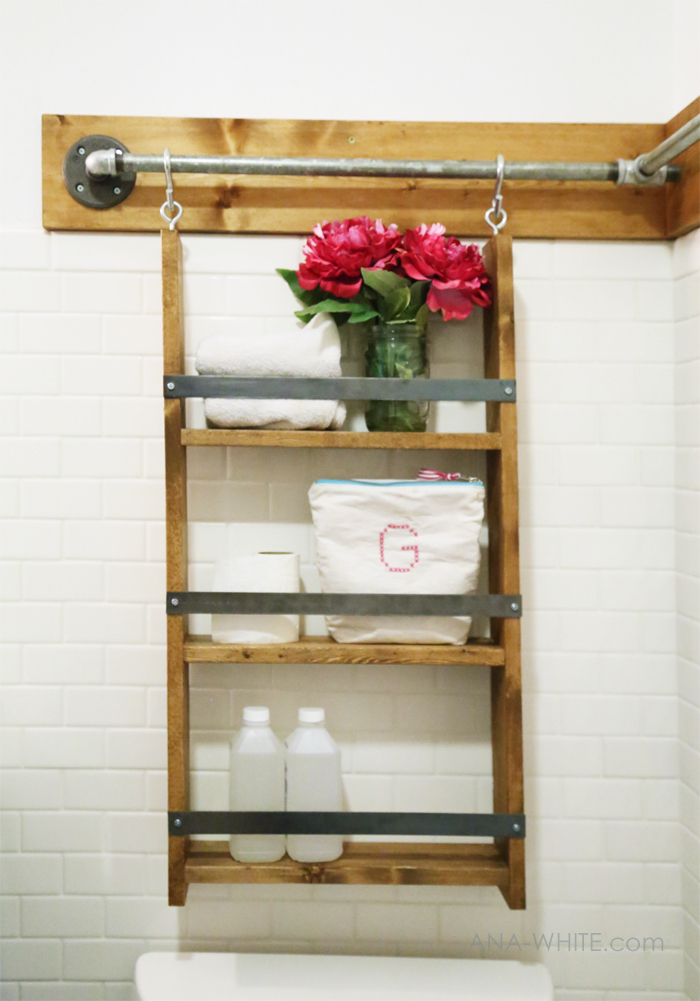 Contemporary Bathroom Wall Organizers Plans For This Organizer Follow Super Simple To Build And Design Ideas