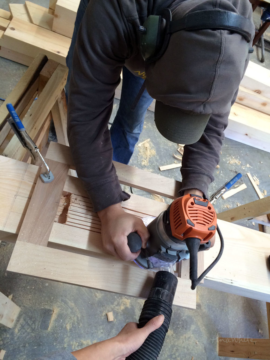 Handcutting a Timberframe | Ana White Woodworking Projects