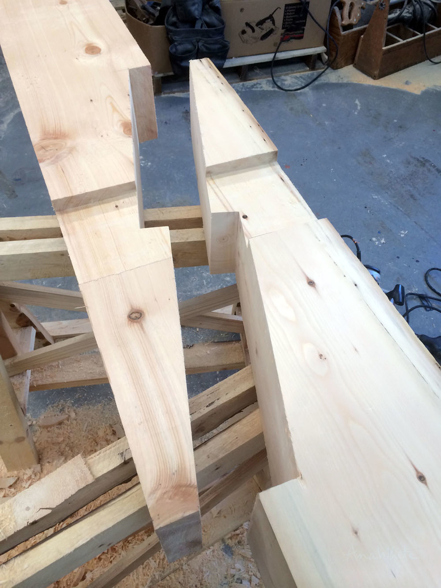 Handcutting A Timberframe Ana White Woodworking Projects