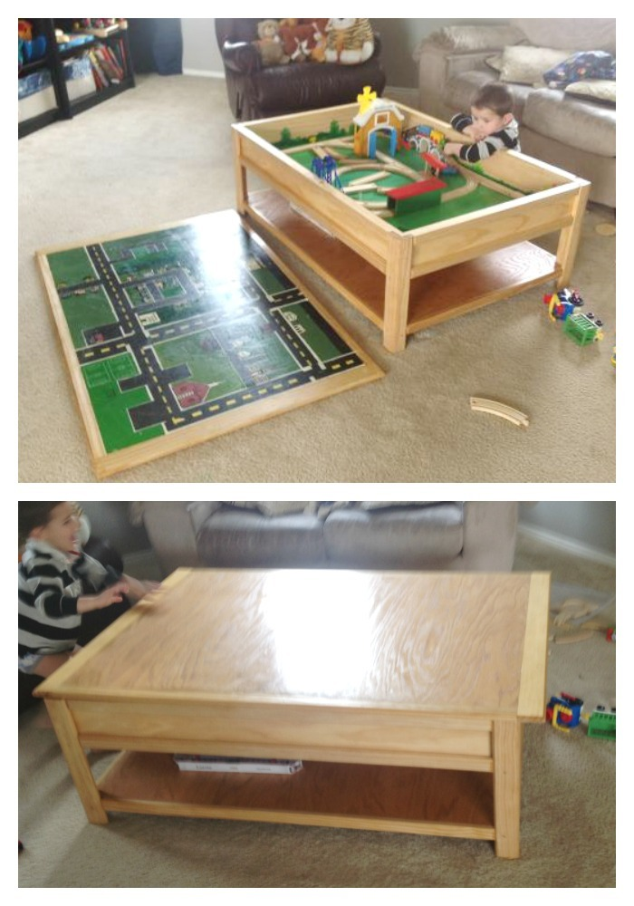 possible replacement for pbk train table for upstairs - mason