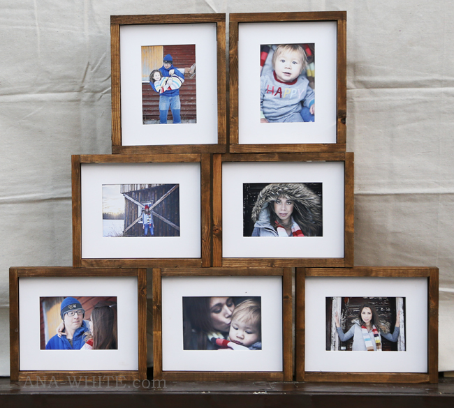 arent the photos so much more beautiful with the wood frames