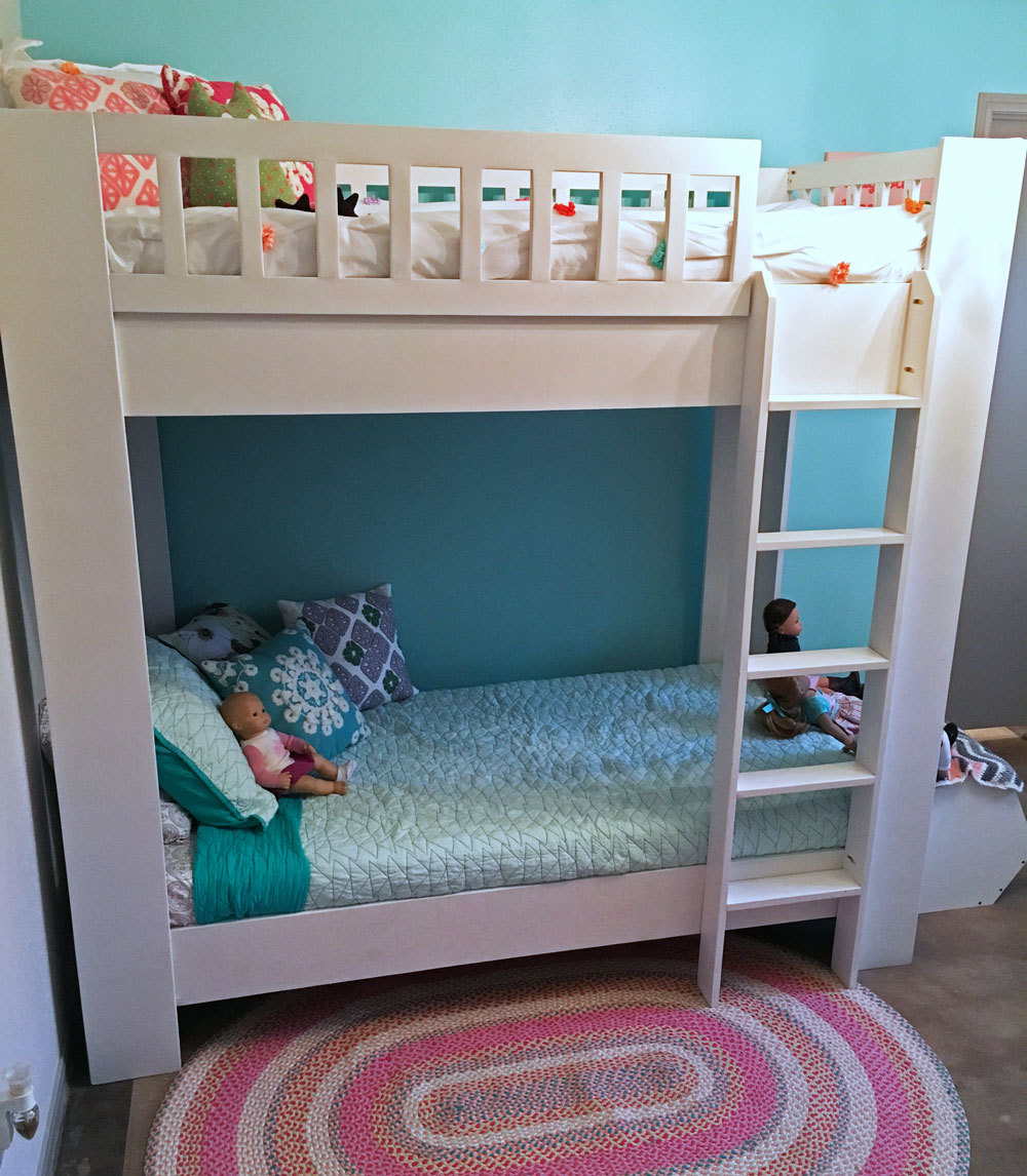 Rustic Modern Bunk Bed