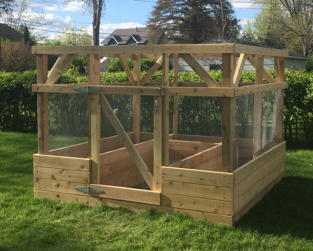 garden enclosure diy plans