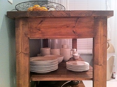 Easy Kitchen Island Plans