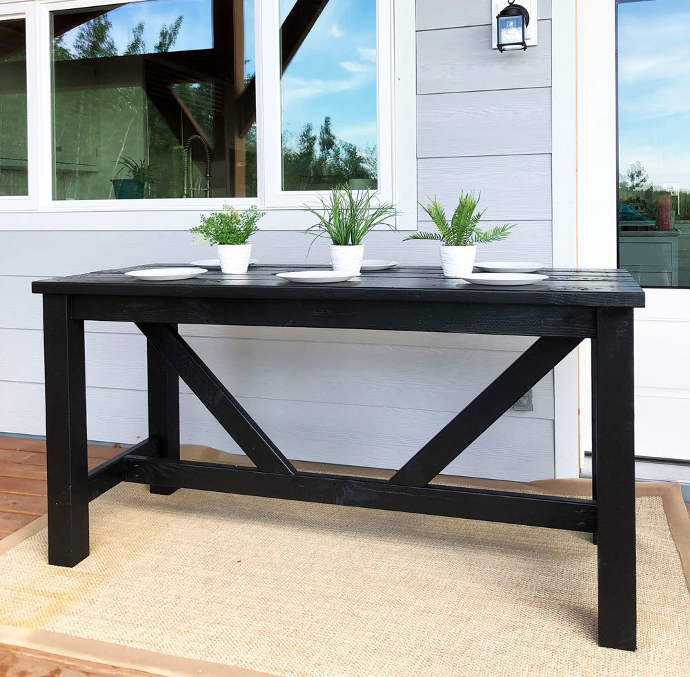 Outdoor Bar Table Ana White, How To Make An Outdoor Bar Table