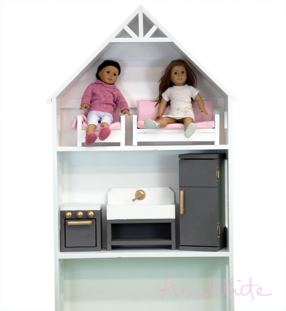 American girl dollhouse furniture