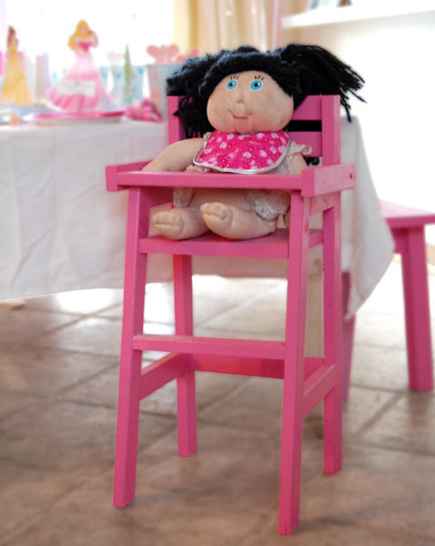 Doll Chair Plans