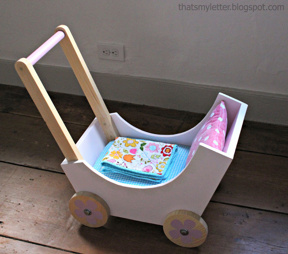 Ana white wood doll pram or stroller diy projects for How to build a carriage
