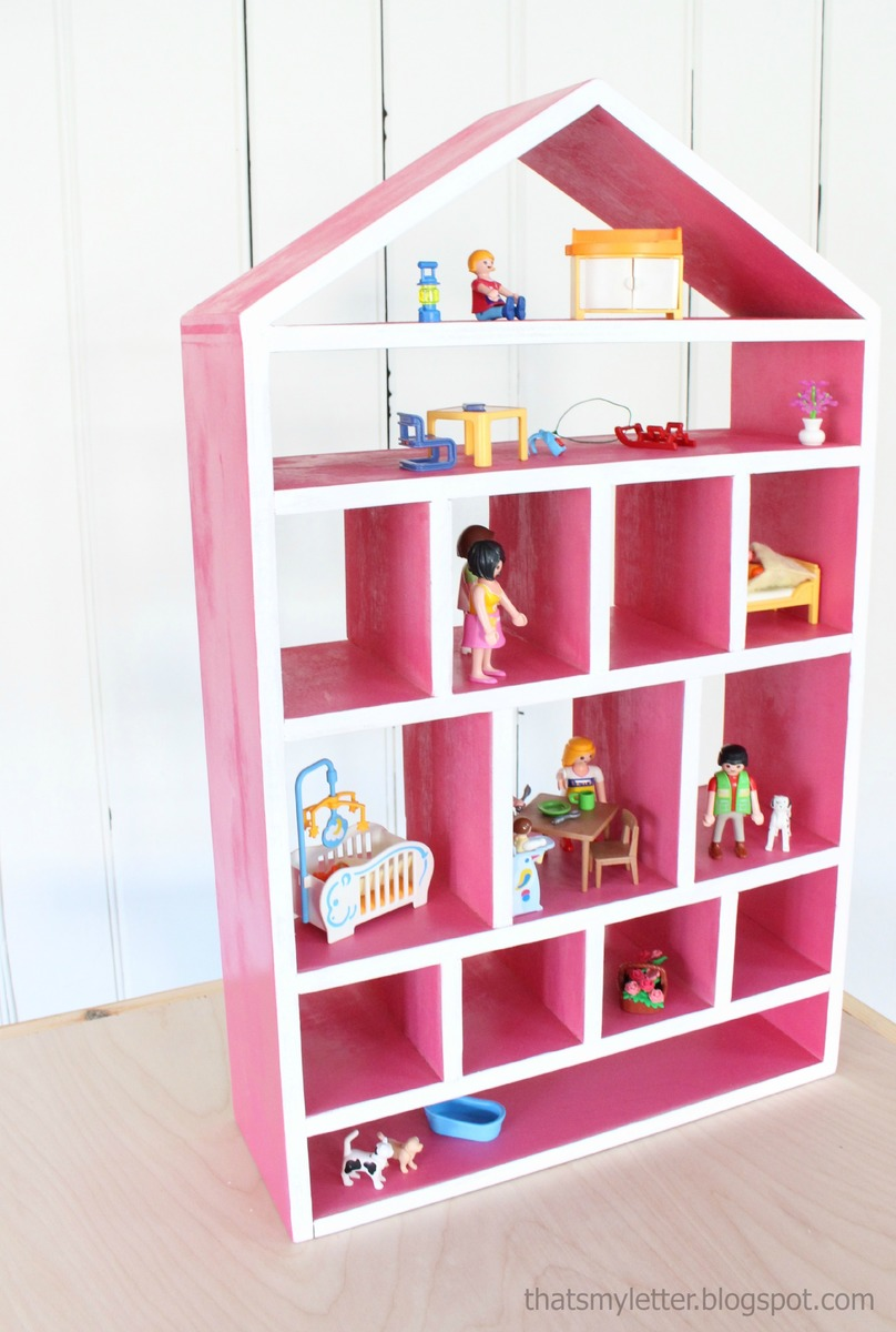 Today We Are Delighted To Share With You Plans For A Wood Dollhouse Wall Shelf