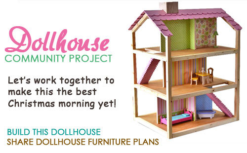 Ana white dream dollhouse diy projects for Step by step to build a house yourself