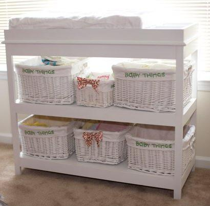 how to build a baby changing table