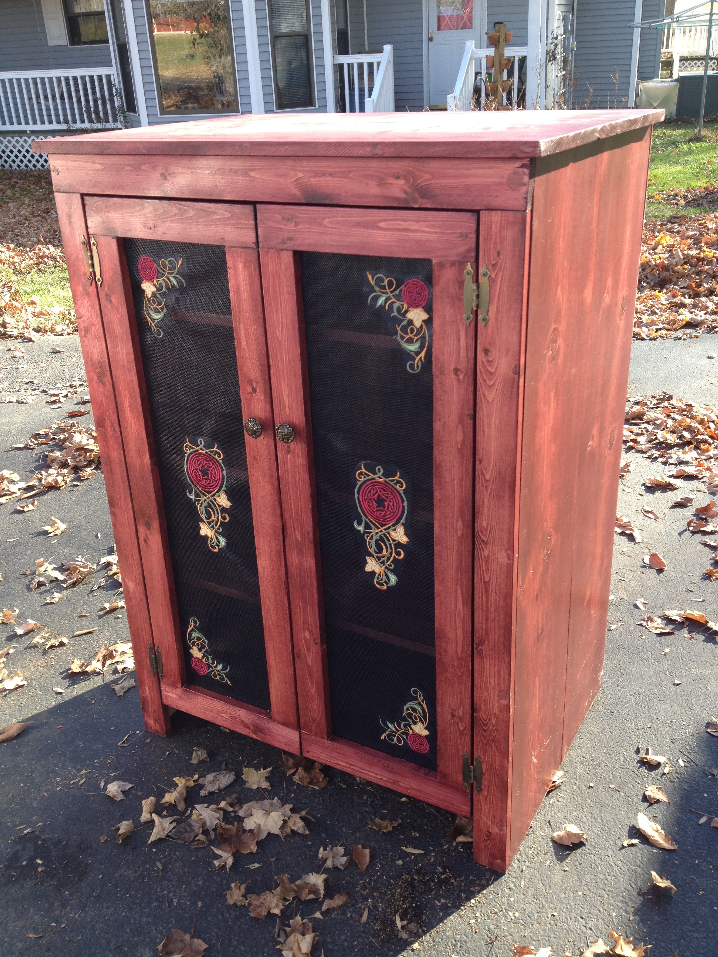 Jelly Cupboard Armoire   Ana White