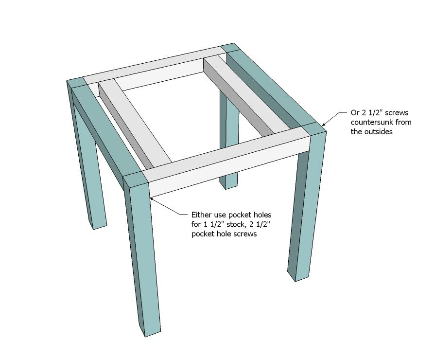 Build An Outdoor End Table