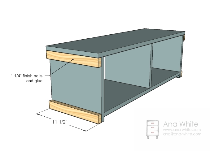 Build Foyer Bench : Pdf plans entryway storage bench free