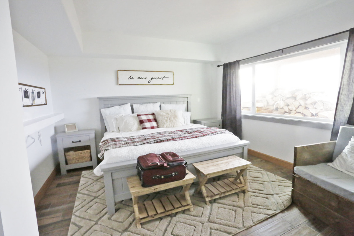 Guest Room Reveal Ana White