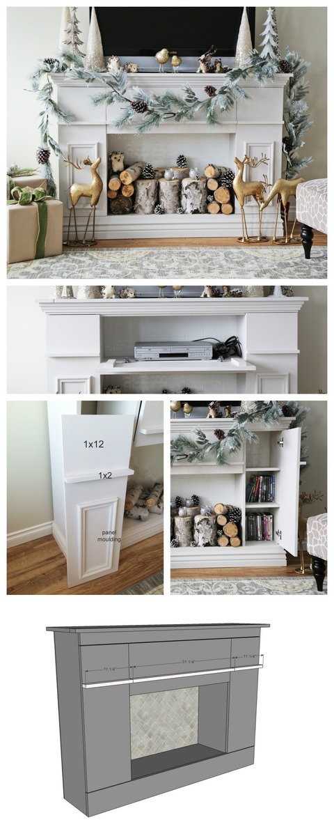 cove mantel cozy shelterness faux decor and ideas fireplaces fireplace