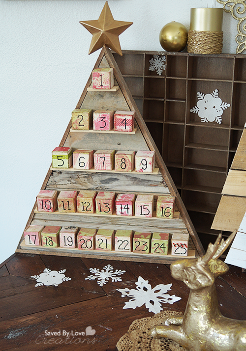 Ana White Diy Wood Advent Calendar Feature By Saved By