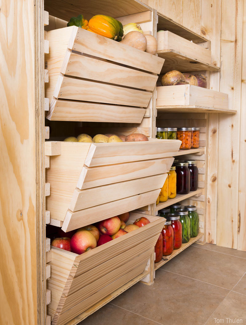 ... White | DIY Root Cellar Storage - Featuring Hobby Farms - DIY Projects