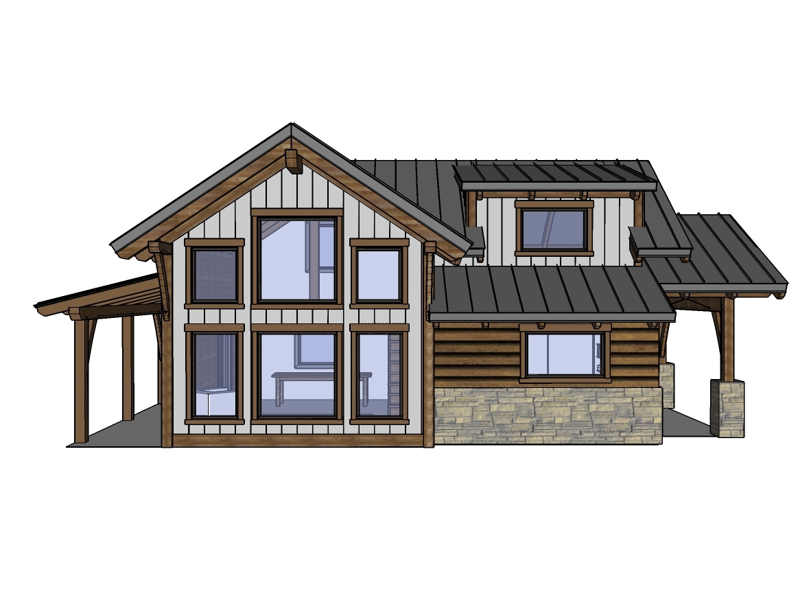 I Also Felt The Covered Decks Added To The Design By Making The Cabin More  Balanced. That, And Our 24x30 Cabin Looks Huge When You Add The Decks On  The ...