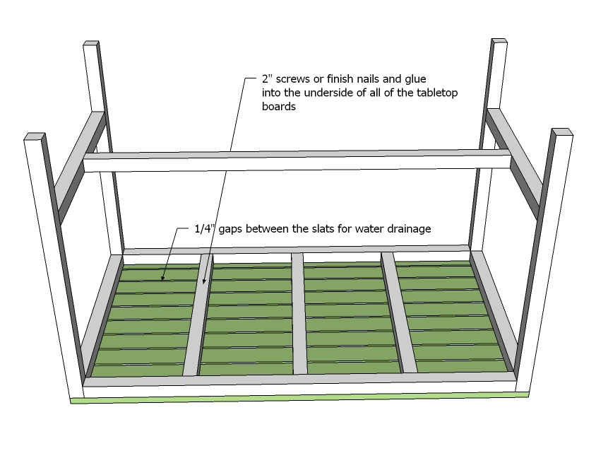 Download plans small outdoor table plans free for Small table plans free