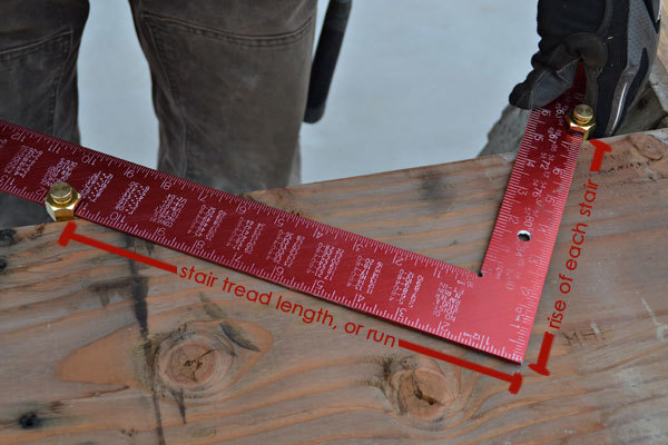 Marking Stair Stringers