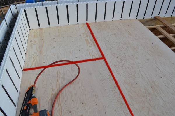 How to Install a Subfloor on Joists