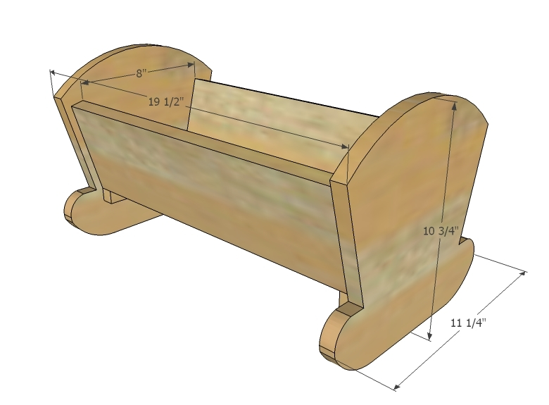 Baby Doll Crib Plans Free Free Download PDF Woodworking Baby doll ...