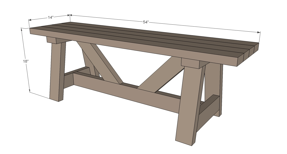 Woodworking 2x4 bench instructions PDF Free Download