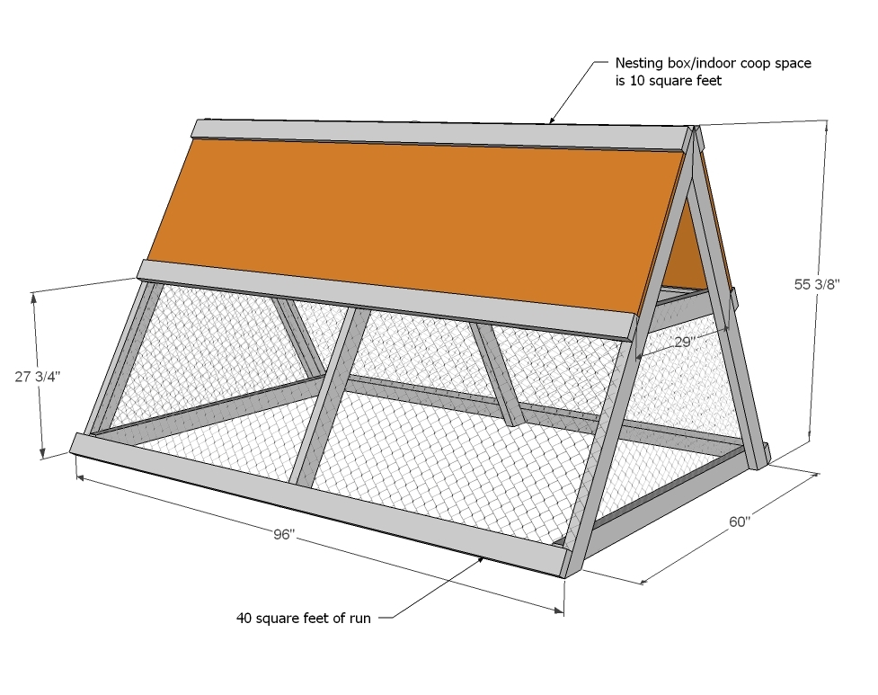 Easy-Build Chicken Coops Plans