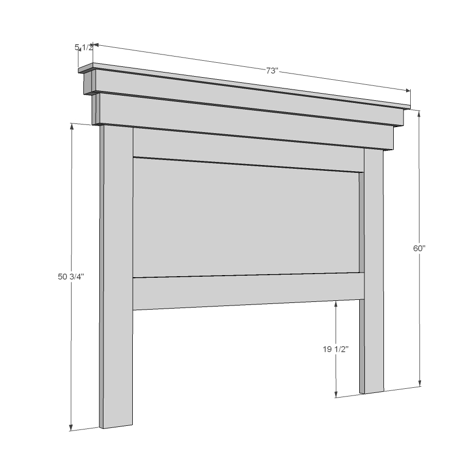 free woodworking plans queen headboard