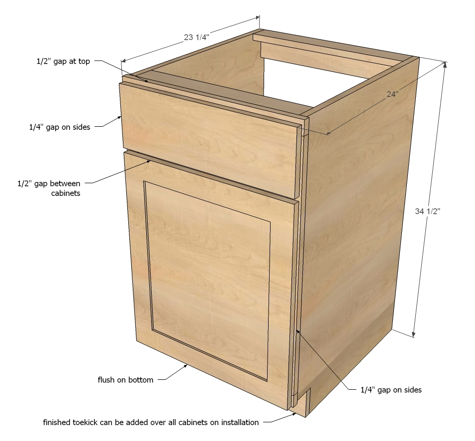 Pdf diy cabinet carcass plans download cabinet plans for Build own kitchen cabinets